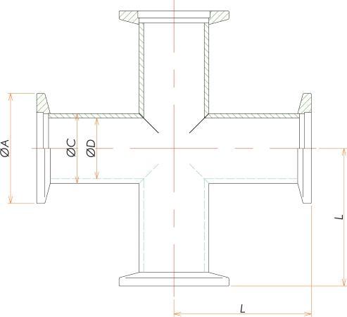 NW50 クロス 寸法画像