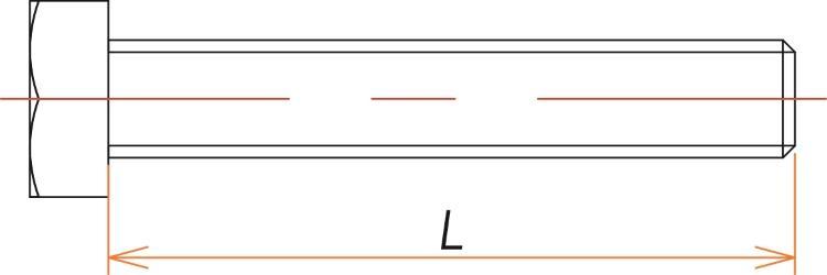 ICF86/114用BOLT/NUT/WASHER 25組 寸法画像