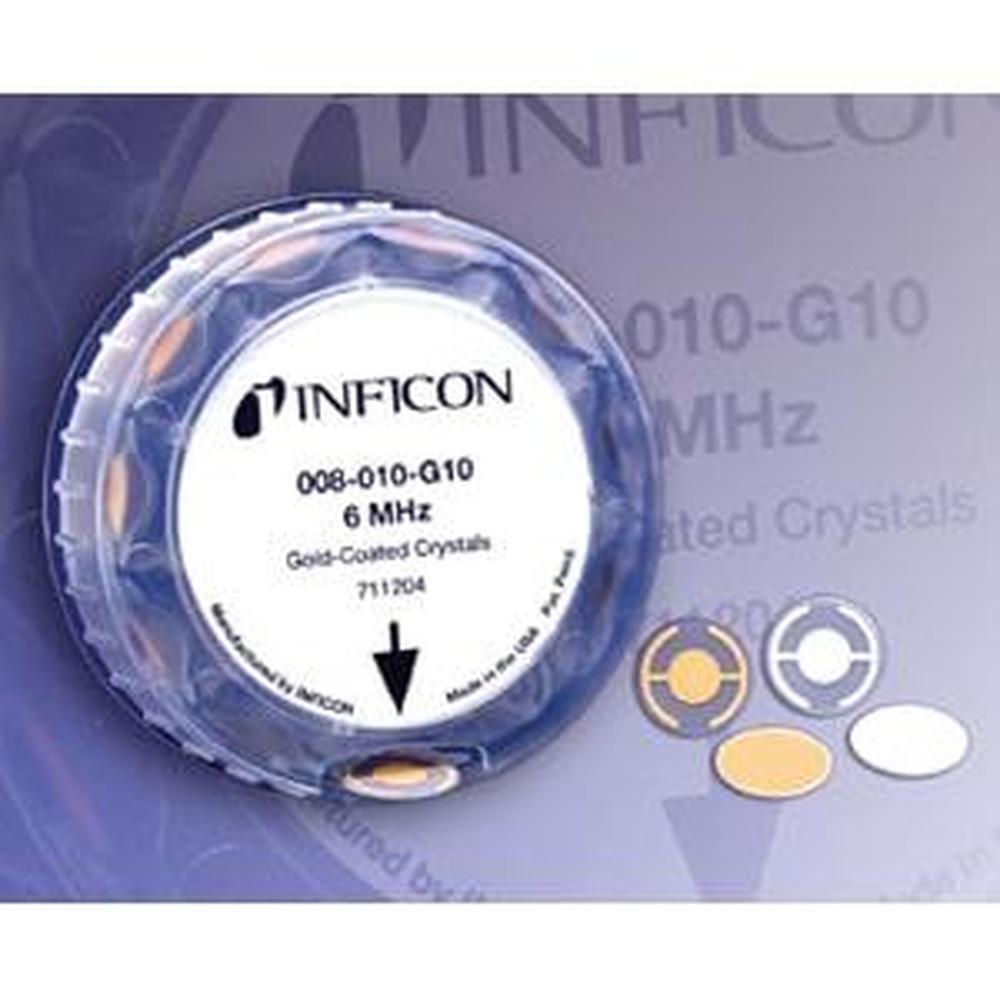 008-010-G10 水晶振動子 金電極 10枚入