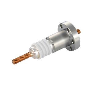 高電流 無酸素銅 電極 10kV - 145A 1個付き ICF70 フランジ