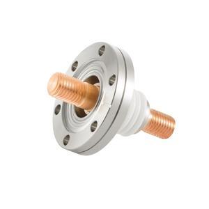 フィードスルー 耐電圧:5kV  電流値:476A(CU),73A(SUS)