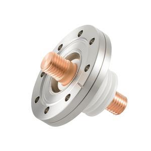 フィードスルー 耐電圧:10kV  電流値:808A(CU),124A(SUS)