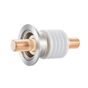 高電流 無酸素銅 電極 10kV - 476A 1個付き NW/KF50 フランジ
