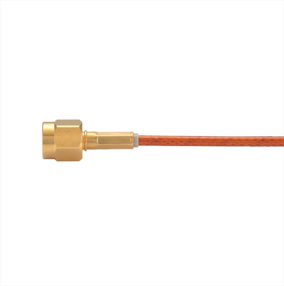接続部品 真空側 両側コネクタ付きケーブル SMA-JJ 用 L=1000