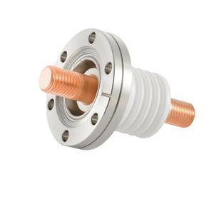 高電流 無酸素銅 電極 10kV - 476A 1個付き ICF70 フランジ