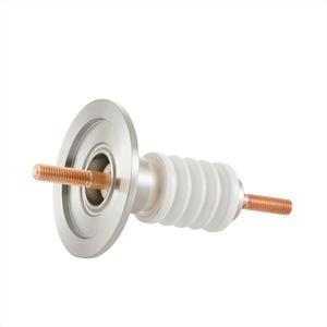 高電流 無酸素銅 電極 10kV - 145A 1個付き NW/KF16 フランジ