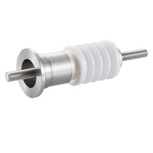 中電流 ステレンス 電極 10kV - 22A 1個付き NW/KF16 フランジ