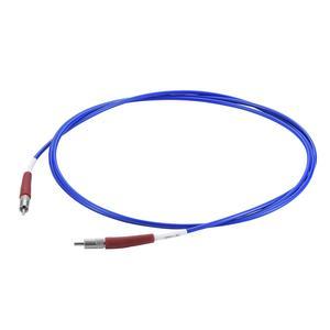 接続部品 大気用両側プラグ付マルチモードファイバー UV / VIS 600μ L=2000