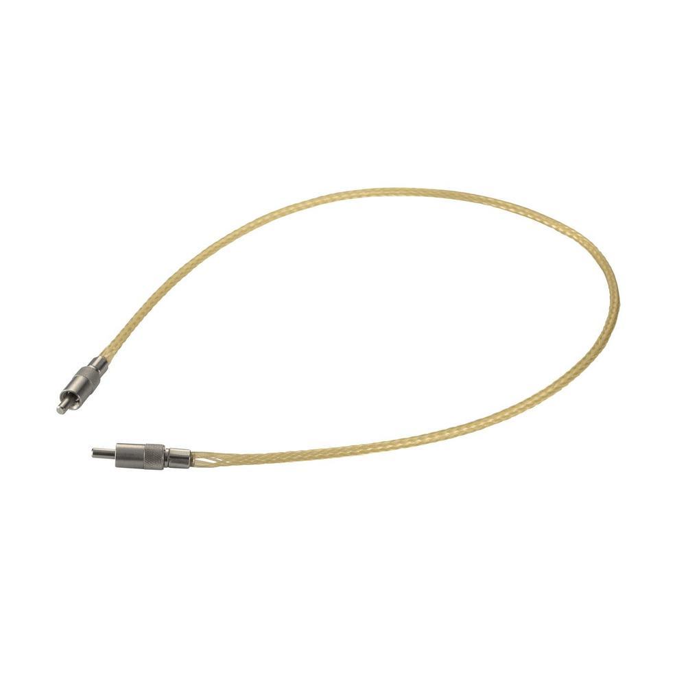 接続部品 真空用両側プラグ付マルチモードファイバー グレードインデックス L=990