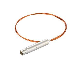 接続部品 真空側 片側 SHV-10kVプラグ付き カプトン被覆ケーブル L=1000