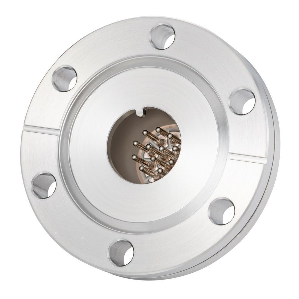 多ピン BURNDY 高電流 12 PIN ICF70 フランジ ガイド付き