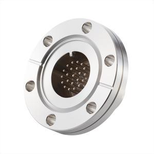 フィードスルー 多ピン BURNDY® 高電流タイプ ガイド付き 22PIN