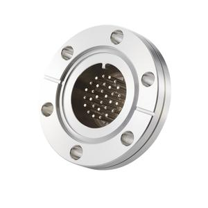 フィードスルー 熱電対 Kタイプ BURNDY® ガイド付き 15対