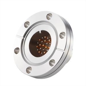 フィードスルー 熱電対 Tタイプ BURNDY® ガイド付き 11対