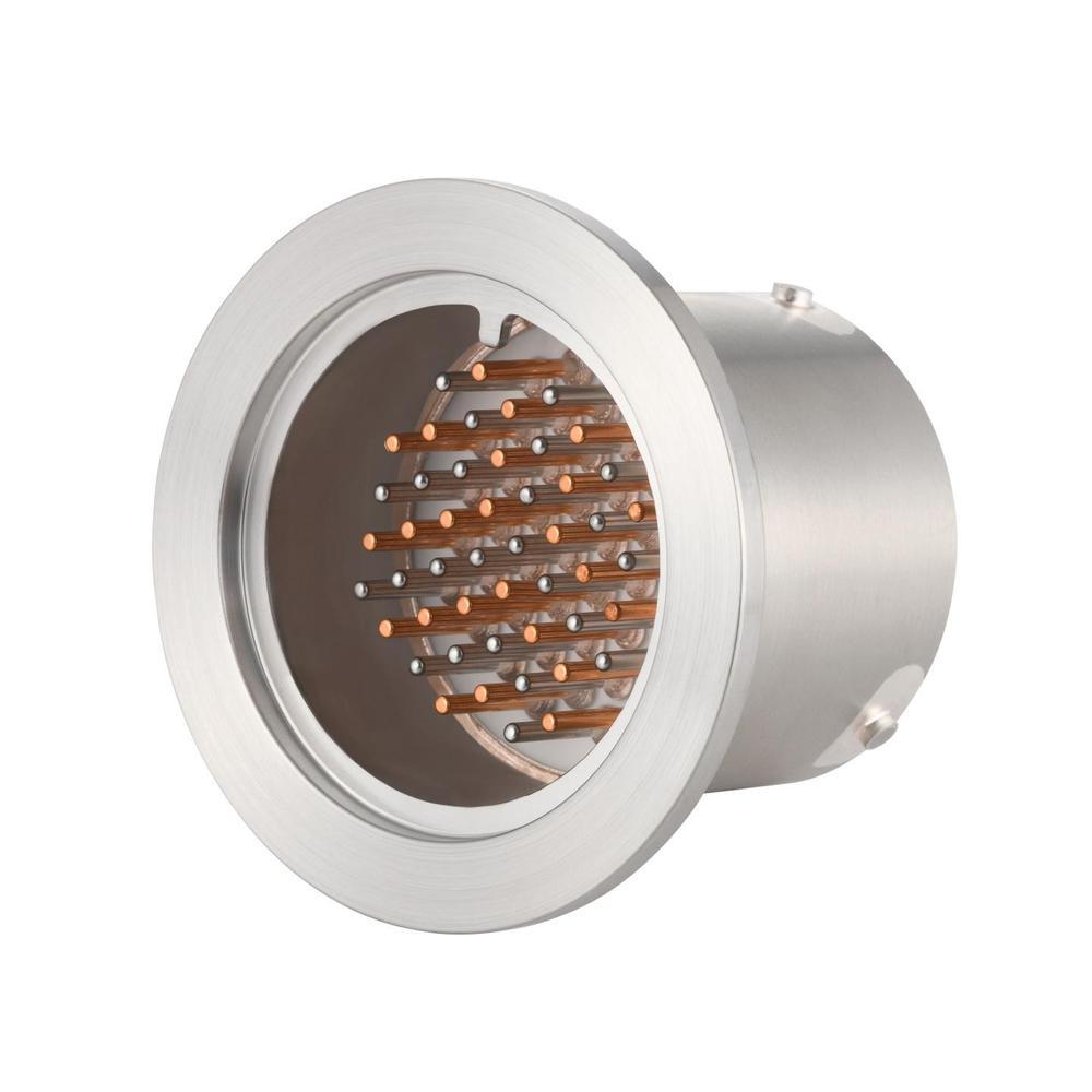 K熱電対 BURNDY 24対 NW/KF40 フランジ ガイド付き