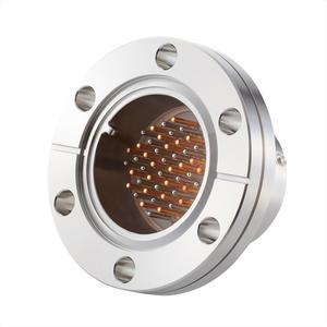 フィードスルー 熱電対 Tタイプ BURNDY® ガイド付き 24対