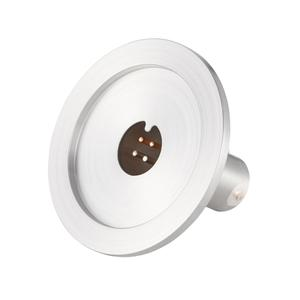 K熱電対 BURNDY 1対 電流導入端子2PIN NW40 フランジ ガイド付き