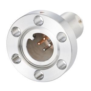 K熱電対 BURNDY 1対 電流導入端子2PIN ICF34 フランジ ガイド付き