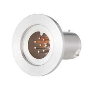 K熱電対 BURNDY 2対 電流導入端子4PIN NW40 フランジ ガイド付き