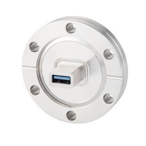 多ピン USB3.0コネクタ ICF70 フランジ (めすめす) Type A