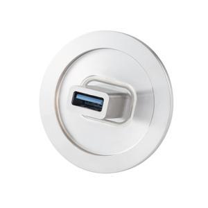 多ピン USB3.0コネクタ NW/KF40 フランジ (めすめす) Type A