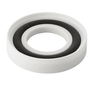 NW/KF センターリング テフロン/バイトン®/テフロン ガラス-金属用