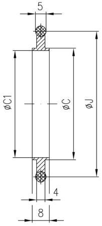34.125037.211.812 Seal NW125 アルミ/バイトン 寸法画像