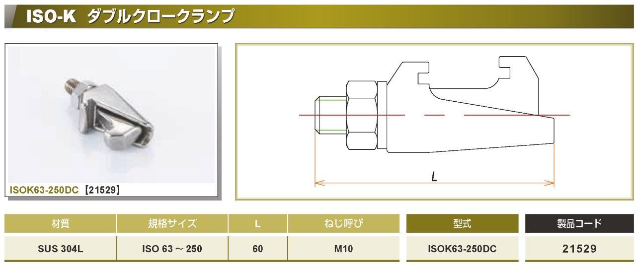 ISO®-K ダブルクロークランプ カタログ画像